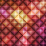 Red Mosaic Background Stock Images