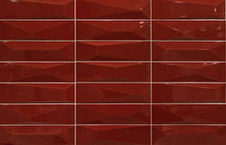 Red mosaic tiles. For decoration Stock Images