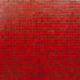 Red mosaic tiles wallpaper Royalty Free Stock Images