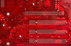 Red Motherboard Stock Photos