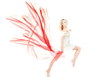 Red motion Stock Images