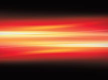 Red motion background. A fire red motion line background on black Stock Photos