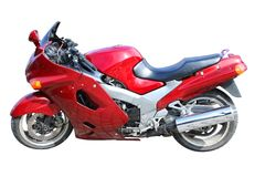 Red motor Stock Photography