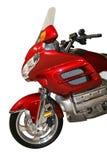 Red motorbike Stock Image