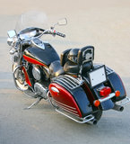 Red motorcycle Royalty Free Stock Photography
