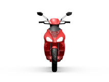 Red Motorcycle Royalty Free Stock Photo