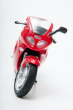 Red motorcycle toy Stock Photography