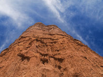 Red mountain Royalty Free Stock Image