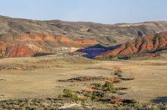 Red Mountain arroyo Stock Photo