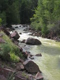 Red Mountain Creek Stock Photo