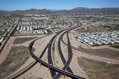 Red Mountain Freeway Stock Photos