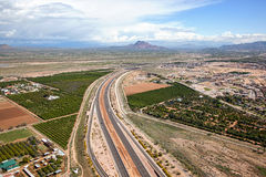 Red Mountain Freeway Stock Images