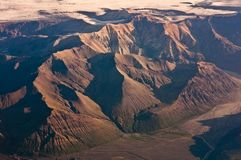 Red mountain massive Stock Images