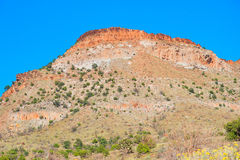 Red mountain Royalty Free Stock Photography