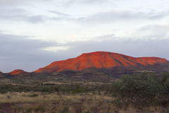 Red Mountain Outback royalty free stock images