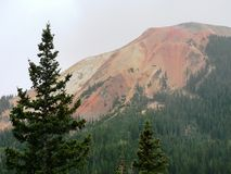 Red Mountain Pass Colorado royalty free stock photography