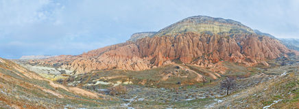 The red mountain Royalty Free Stock Photography