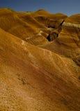 Red mountainous landscape Stock Photo