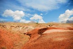 Red mountains, Altai Mountains, Russia Royalty Free Stock Photo