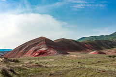 Red mountains. Amazing red mountains, rocks mountains Stock Photography