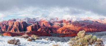 Red Mountains Royalty Free Stock Photo