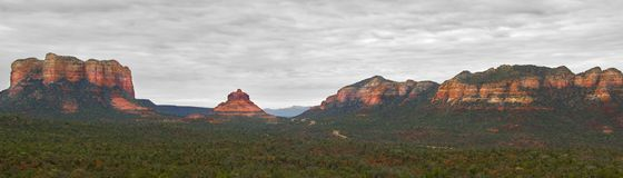 Red Mountains of Sedona Royalty Free Stock Images
