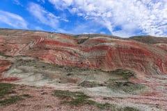 Red mountains Stock Photos