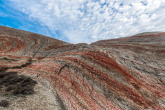 Red mountains Royalty Free Stock Image