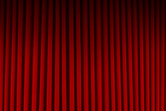 Red Movie Curtains Royalty Free Stock Photo