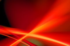 Red moving. Abstract blurs  background - red motion with copy space Royalty Free Stock Images