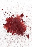 Red Mud Spatter Royalty Free Stock Photo