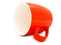 Red mug Stock Photography