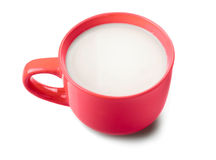 Red mug Stock Photo