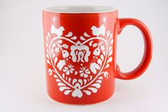 Red mug Royalty Free Stock Photography