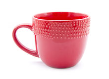 Red mug Royalty Free Stock Images