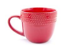 Red mug Royalty Free Stock Images