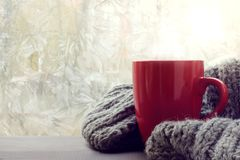Warming cozy atmosphere Royalty Free Stock Images