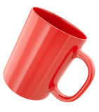 Red mug Royalty Free Stock Image