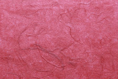 Red mulberry paper surface for the design Texture backdrop in yo Stock Photos