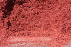 Red mulch Stock Images