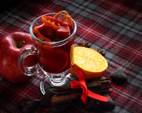 Red mulled wine Royalty Free Stock Photo