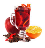 Red mulled wine Stock Photo