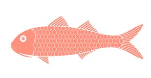 Red mullet. Fish Royalty Free Stock Photo