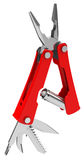 The red multitool Royalty Free Stock Images