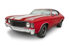 1970 Chevelle SS Muscle Car Royalty Free Stock Images