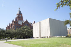 Red Museum and Kennedy Memorial Stock Image
