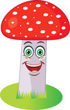 Red Mushroom. Royalty Free Stock Photography