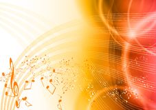 Red music Stock Images
