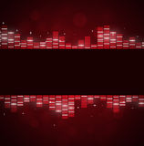 Red Music Background Royalty Free Stock Images