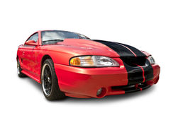 Red Mustang Cobra Sports Car Royalty Free Stock Image